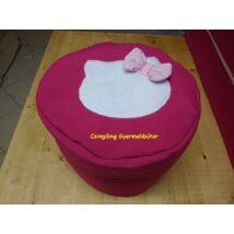 Babzsák puff: Pink Kitty