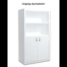 Filip COLOR 2 ajtós álló szekrény: fehér