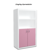 Filip COLOR 2 ajtós álló szekrény: rózsaszín