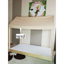 """""""HOUSE"""" házikó formájú ágy EXTRA KIEGÉSZÍTŐJE: TETŐ"""