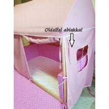 HOUSE házikó formájú gyerekágy EXTRA KIEGÉSZÍTŐJE: OLDALFAL ABLAKKAL
