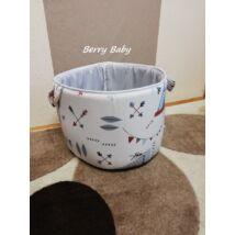 Berry Baby szövet játéktároló - Indiános