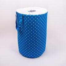 Berry Baby szennyestartó/játéktároló: Kék pöttyös