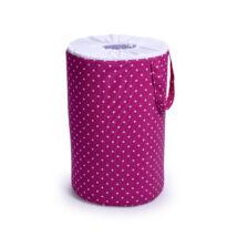 Berry Baby szennyestartó/játéktároló: Pink pöttyös