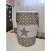 Berry Baby szennyestartó/játéktároló: Szürke csillagos STARS