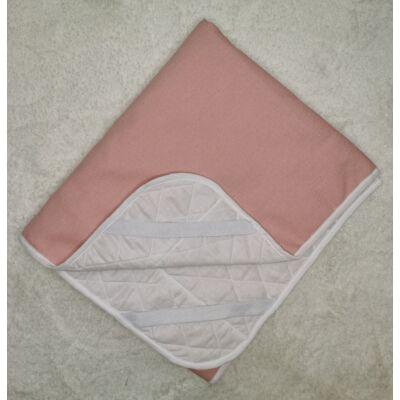 Ágytakaró gyermekágyaink mintájával: Rózsaszín 63x150 cm-es