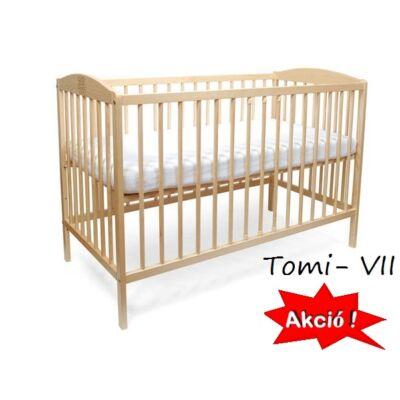 Kiságy (rácsos ágy): Tomi VII-fenyő (Bemart MACIS mintával)