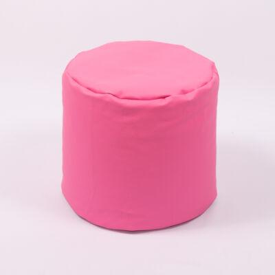 Babzsák puff: Pink Eco-bőr KÉSZLETRŐL