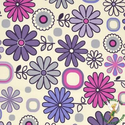 Rori Wextra ágyneműtartós kárpitos kanapéágy: lila virágos
