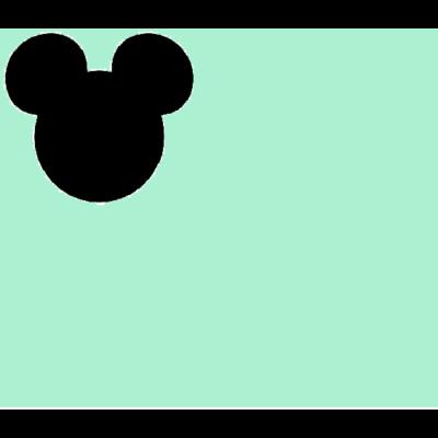 Wextra leesésgátlós kárpitos gyerekágy: menta Mickey