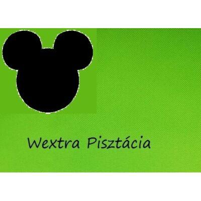 """""""WEXTRA"""" KÁRPITOS leesésgátlós gyerekágy - 63x150 cm-es fekvőfelülettel: Egyszínű pisztácia - (Mickey fantázia párnákkal is kérhető)"""