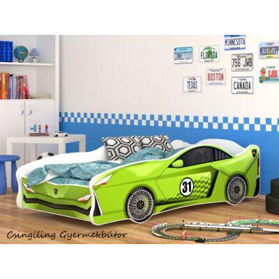 CARS I. gyerekágy 80x160 cm-es méretben: 20-as