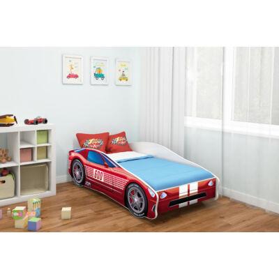 CARS II. autó alakú gyerekágy 1 PIROS