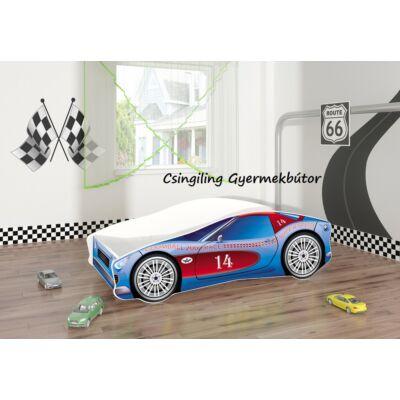 """""""CARS"""" II.  gyerekágyak - 3 méretben: 2-es Kék-piros"""