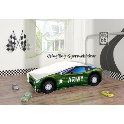 """""""CARS"""" II.  gyerekágyak - 3 méretben: 7-es Army"""