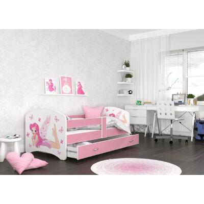 COOL BEDS ágyneműtartós gyerekágy - 4 méretben: 04L Tündéres