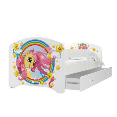 """""""COOL BEDS"""" ágyneműtartós gyerekágy - 3 méretben: 08L Pony"""