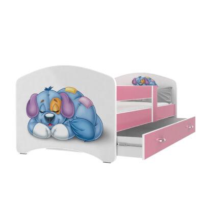 COOL BEDS ágyneműtartós gyerekágy - 4 méretben: 11L Kutyusos