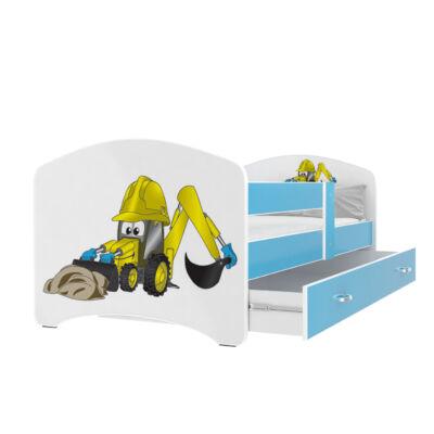 COOL BEDS ágyneműtartós gyerekágy - 4 méretben: 14L Markolós