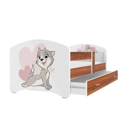 """""""COOL BEDS"""" ágyneműtartós gyerekágy - 3 méretben: 15L Cicás"""