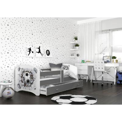 """""""COOL BEDS"""" ágyneműtartós gyerekágy - 4 méretben: 21L Focilabda"""