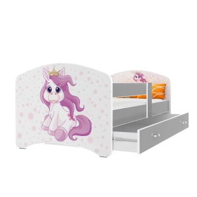 """""""COOL BEDS"""" ágyneműtartós gyerekágy - 3 méretben: 28L Pony"""