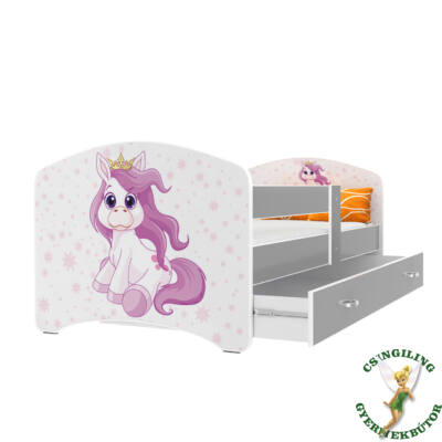 """""""COOL BEDS"""" ágyneműtartós gyerekágy - 4 méretben: 28L Pony"""