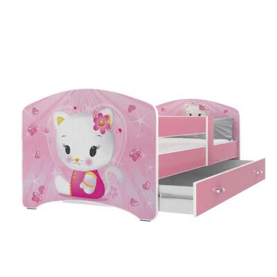 COOL BEDS ágyneműtartós gyerekágy - 4 méretben: 33L Hello Kids