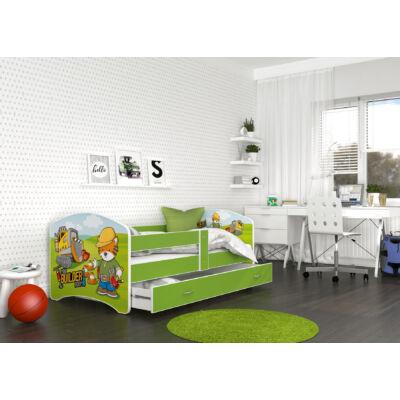"""""""COOL BEDS"""" ágyneműtartós gyerekágy - 4 méretben: 35L Builder"""