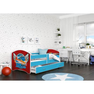 COOL BEDS ágyneműtartós gyerekágy - 4 méretben: 36L Air Club REPÜLŐ KLUB