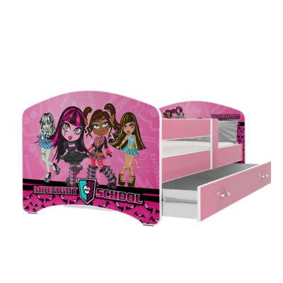 """""""COOL BEDS"""" ágyneműtartós gyerekágy - 4 méretben: 42L Midnight School"""