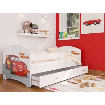 """""""COOL BEDS"""" ágyneműtartós gyerekágy - 4 méretben: 43 Fire Wheels"""
