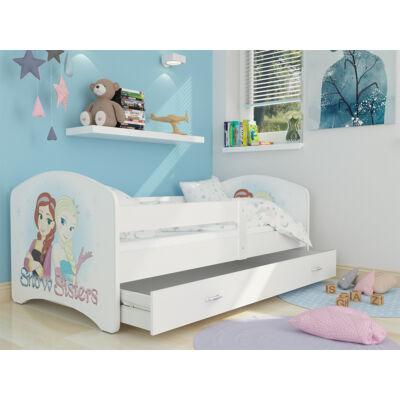 """""""COOL BEDS"""" ágyneműtartós gyerekágy - 4 méretben: 44 Snow Sister"""