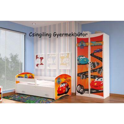 """""""COOL BEDS"""" ágyneműtartós gyerekágy - 4 méretben: 37L Riders"""