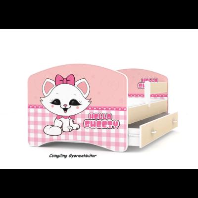 """""""COOL BEDS"""" ágyneműtartós gyerekágy - 4 méretben: 38L Hello Sweety"""