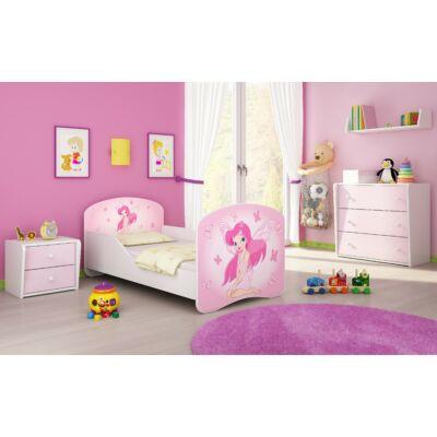 """""""DREAM"""" leesésgátlós gyerekágy - 3 méretben: 07 Pink fairy"""