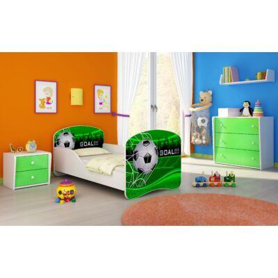 DREAM leesésgátlós  ágyneműtartós gyerekágy, 80x180 cm: 14 Goal KÉSZLETRŐL