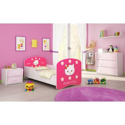 DREAM leesésgátlós gyerekágy - 3 méretben: 16 Sweet Kitty 2 HELLÓ KITTY JELLEGŰ 2