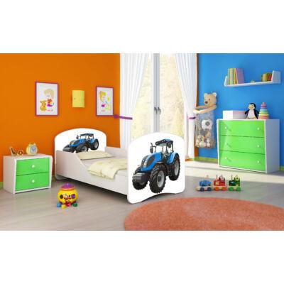 """""""DREAM"""" leesésgátlós gyerekágy - 3 méretben: 42 Traktor"""