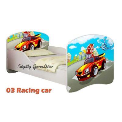 """""""DREAM"""" leesésgátlós gyerekágy - 3 méretben: 03 Racing car"""