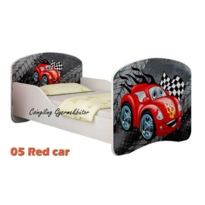 """""""DREAM"""" leesésgátlós gyerekágy - 3 méretben: 05 Red car"""