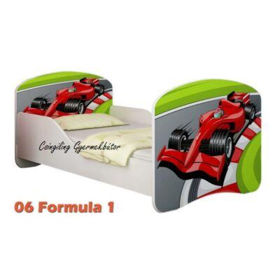 """""""DREAM"""" leesésgátlós gyerekágy - 3 méretben: 06 Formula 1"""