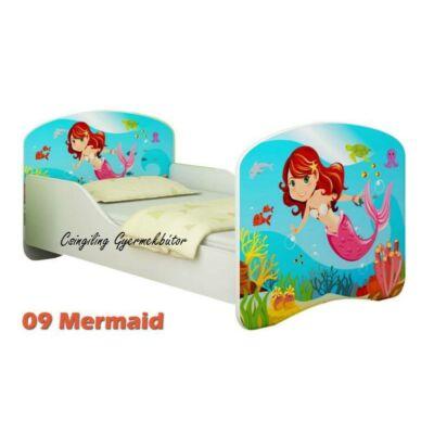 """""""DREAM"""" leesésgátlós gyerekágy - 3 méretben: 09 Mermaid"""