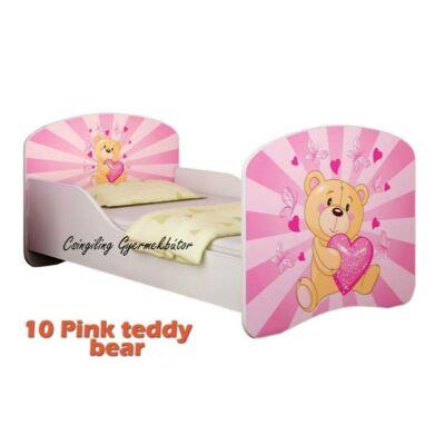 """""""DREAM"""" leesésgátlós gyerekágy - 3 méretben: 10 Pink teddy bear"""