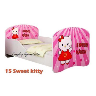 """""""DREAM"""" leesésgátlós gyerekágy - 3 méretben: 15 Sweet Kitty"""