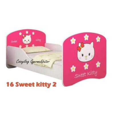 """""""DREAM"""" leesésgátlós gyerekágy - 3 méretben: 16 Sweet Kitty 2"""