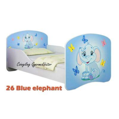 """""""DREAM"""" leesésgátlós gyerekágy - 3 méretben: 26 Blue elephant"""