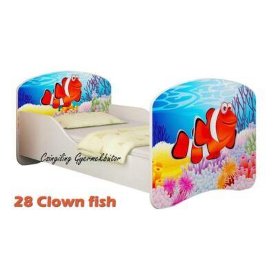 """""""DREAM"""" leesésgátlós gyerekágy - 3 méretben: 28 Clown fish"""
