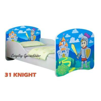 """""""DREAM"""" leesésgátlós gyerekágy - 3 méretben: 31 Knight"""