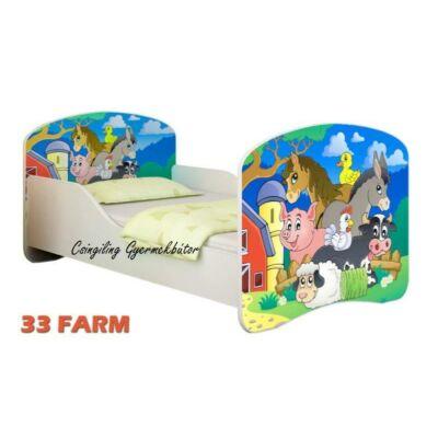 """""""DREAM"""" leesésgátlós gyerekágy - 3 méretben: 33 Farm"""